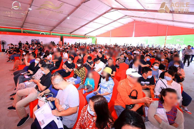 雅居乐·汇港城|首开热销10亿,铸就南京红盘新传奇!