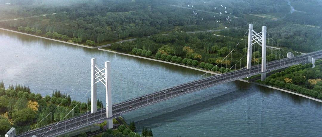 【交通】黄浦江上首座悬索桥!嘉松公路越江大桥今天开工