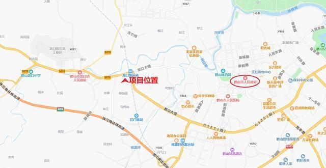 广东江门大型国际物流枢纽工程,包括跨境电商业务,现代仓储