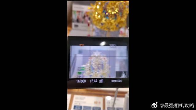 索尼A7S3首秀,视频追焦演示~
