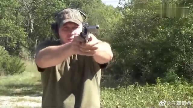 鲁格GP100转轮手枪,威力大可靠性高,重点是够帅