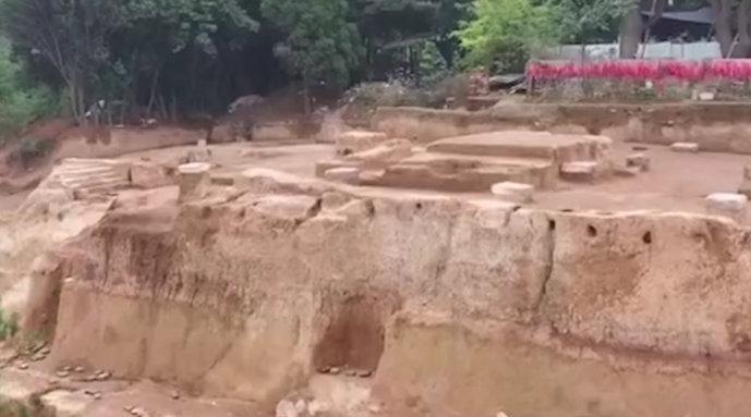 西安发现长恨歌中骊宫:系目前发现的唯一唐代高台建筑遗址