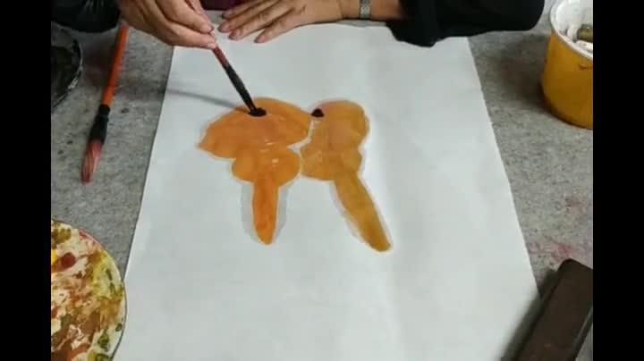 老友视频大讲堂  《花鸟画讲座》之六:各种葫芦的画法