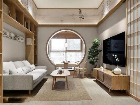 一居室阳台改多功能房,装自己喜欢的中式风,让生活取悦自己!