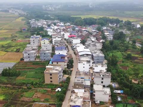 航拍衡阳:常宁西岭镇平安村,周敦颐后裔聚居地,醉美生态文化村