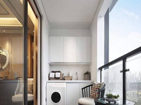 洗衣机不要放阳台了,聪明人都懂放这个地方,真后悔我家做错了
