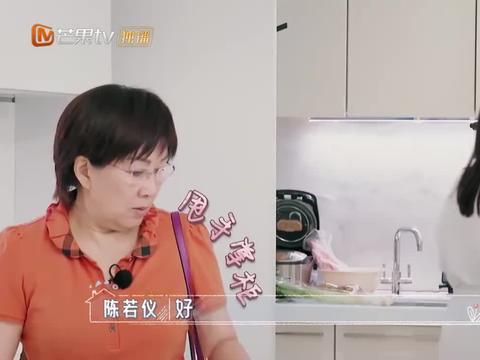 陈若仪蒸米饭放太多水,婆婆:你要煮粥吗?林志颖紧张了!