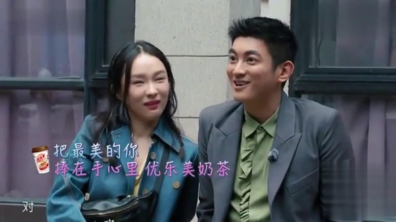 杜江说霍思燕是戏剧学院里最美的……