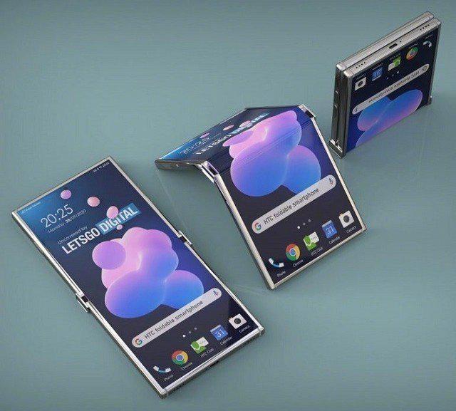 HTC可折叠手机 专利公开 类似摩托罗拉Razr