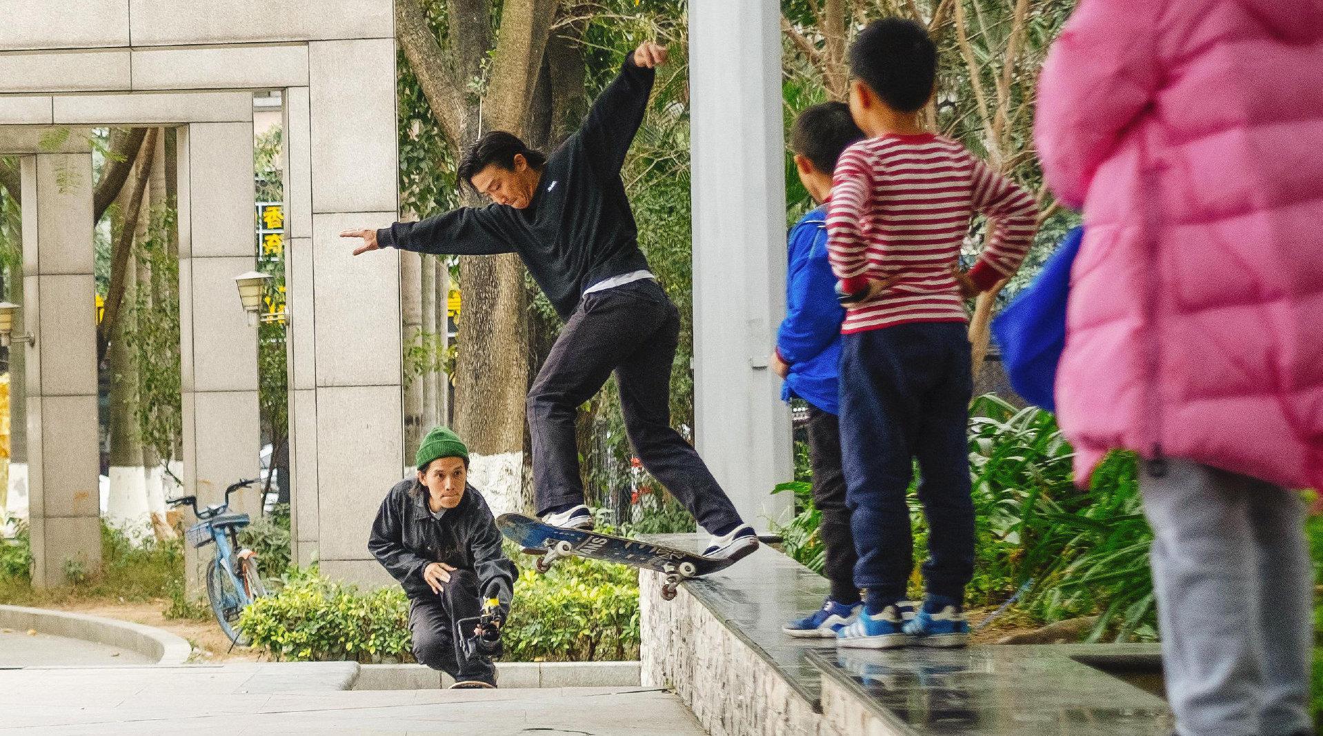 KTV - 深圳独立滑板影片「ITS OK」是由@Jay-Wuu 拍摄剪辑影片……