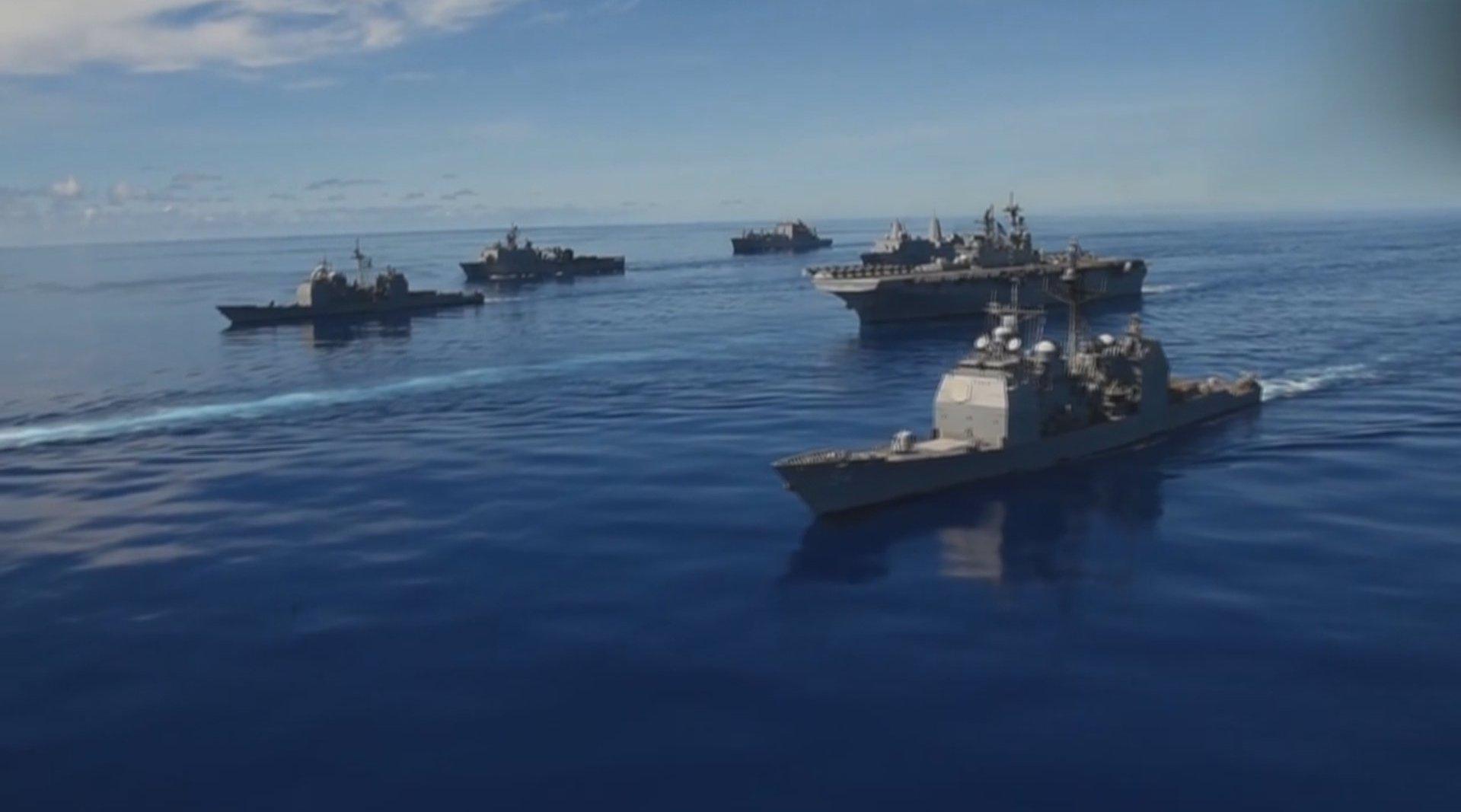 美军多军种9月以来频繁展开夺岛作战演习