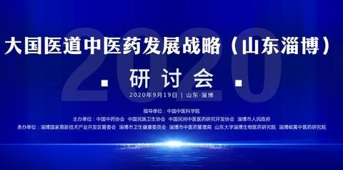 2020大国医道中医药发展战略研讨会在山东淄博成功举办