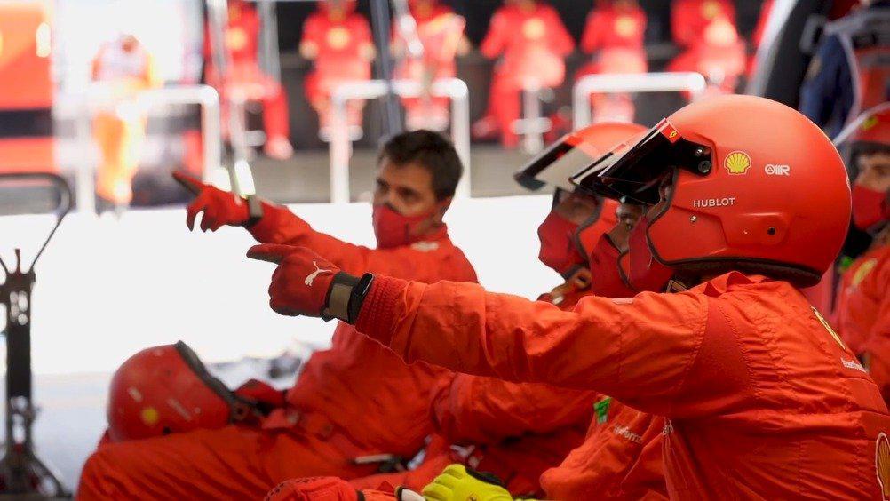 法拉利车队官方复盘 :一场平淡的比赛