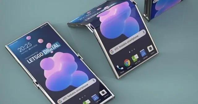 HTC可折叠手机专利公开 类似摩托罗拉Razr