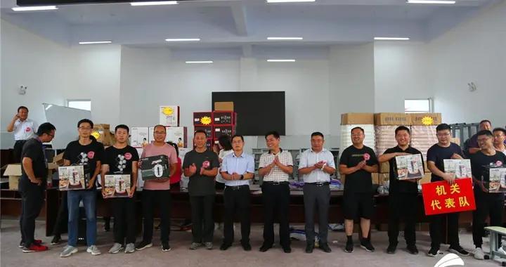 临沂临沭县大兴镇第一届全民健身运动会嗨翻天
