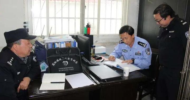 镇巴县公安局:钱剑锋同志到青水派出所调研检查工作