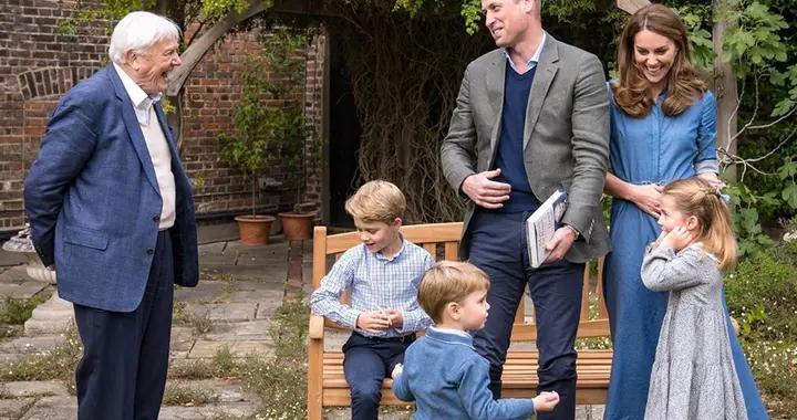 威廉王子一家新合照,凯特王妃和夏洛特公主的连衣裙成热话