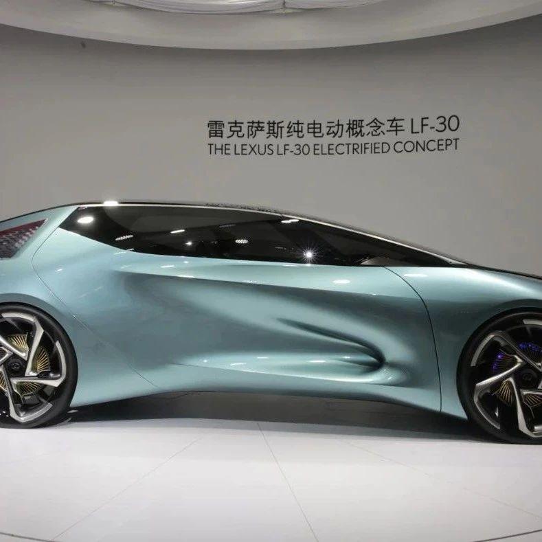 一条后现代气息的魔鬼鱼 | 北京车展动物世界之雷克萨斯