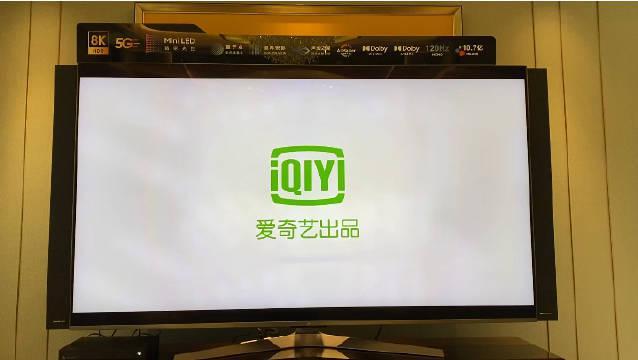 近距离看下49999元小米电视,8K+5G,Mini LED,120Hz MEMC……
