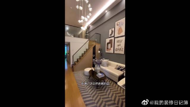 49平两房loft公寓房间,再也不用隔空相望了,超级有隐私感!