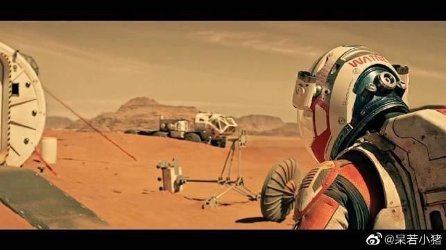 独自一人在距离地球五千万公里的火星生活……