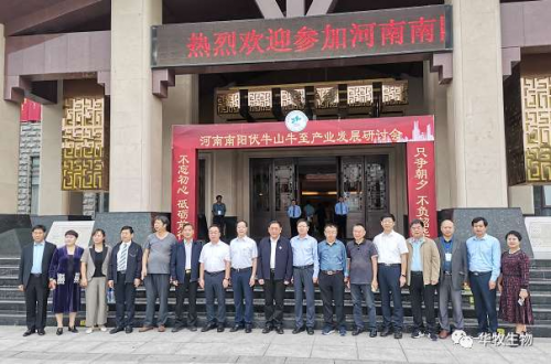 """华牧集团在河南省召开的""""南阳伏牛山牛"""
