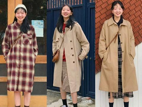 秋冬换季不会穿?学这27套韩风搭配,让你一周不重样,时尚又好看