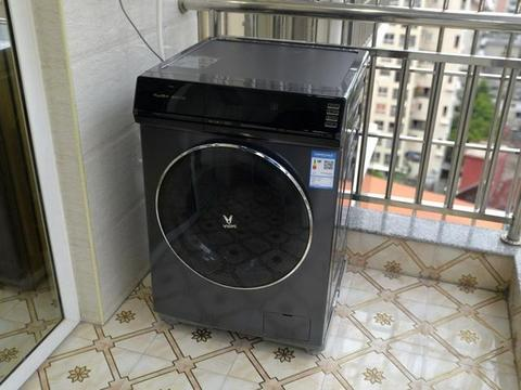 云米互联网洗烘一体机EyeBot智目洗,洗烘一体,智慧漂洗更干净