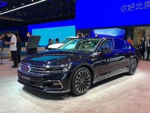 上汽大众新款辉昂车展首发,新车将于10月正式上市