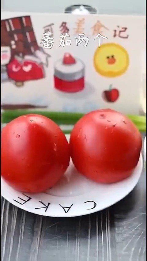 番茄浓汤捞面