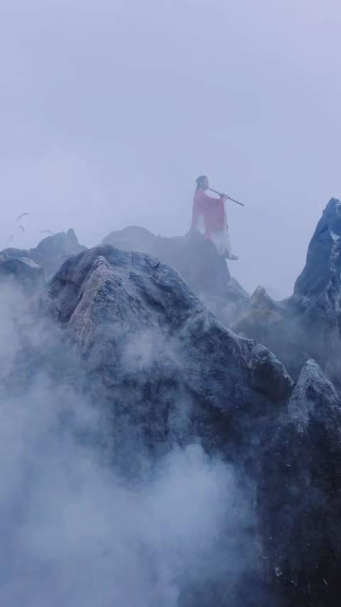 凌晨奔赴千岛湖石林景区, 感受的烟雾缭绕如仙境一般……