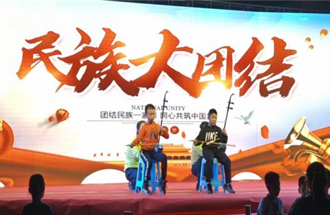"""唐山尚安社区""""中华民族一家亲 同心共筑中国梦""""民族宣传月活动"""