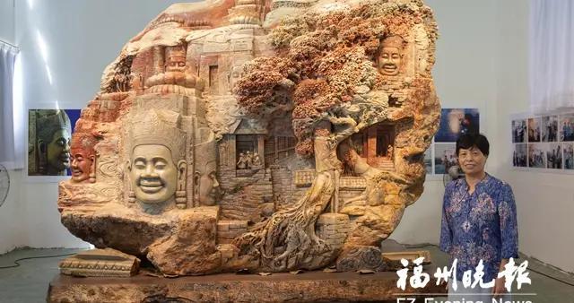 刘爱珠:72岁完成《吴哥之美》
