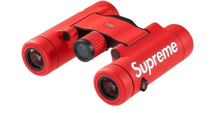 Supreme x Leica 联乘双筒望远镜登场