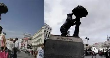 西班牙疫情前后街景照片对比,看完五味杂陈