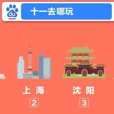 """百度搜索大数据:沪江浙独宠""""鲜肉月饼"""",今年十一自驾热、相亲热、国内游热"""