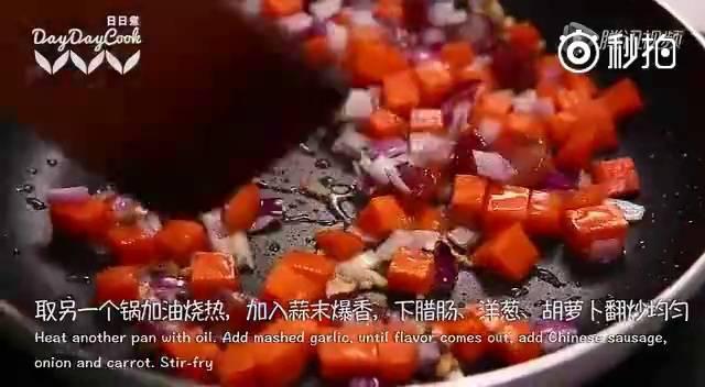 鲜香虾仁菠萝炒饭便当