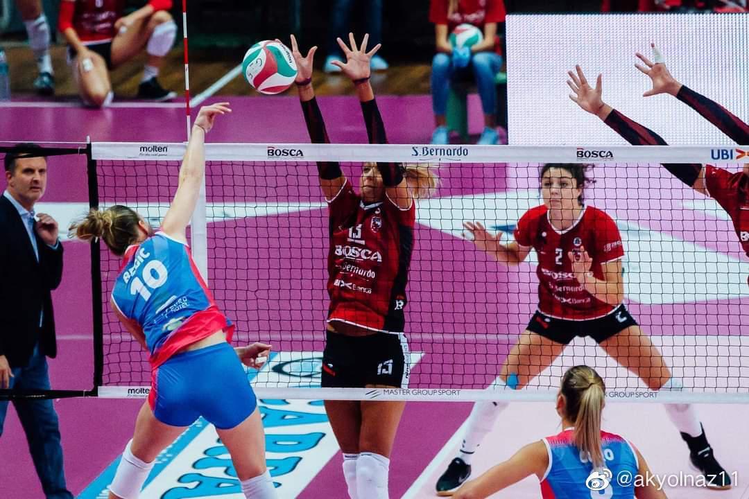 2020-2021赛季意大利女排联赛第二轮……