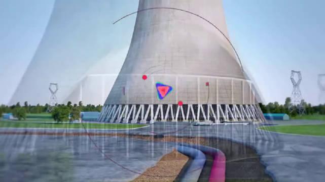 3D还原火力发电厂使用煤炭发电全过程!