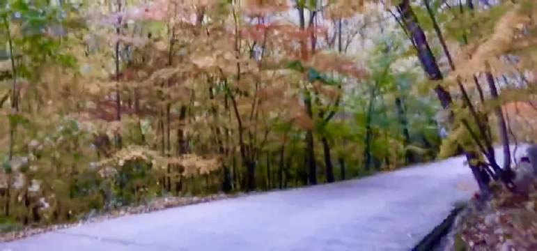 此时的桓仁枫林谷,峰回路转,风景无限。(本溪汪洋)