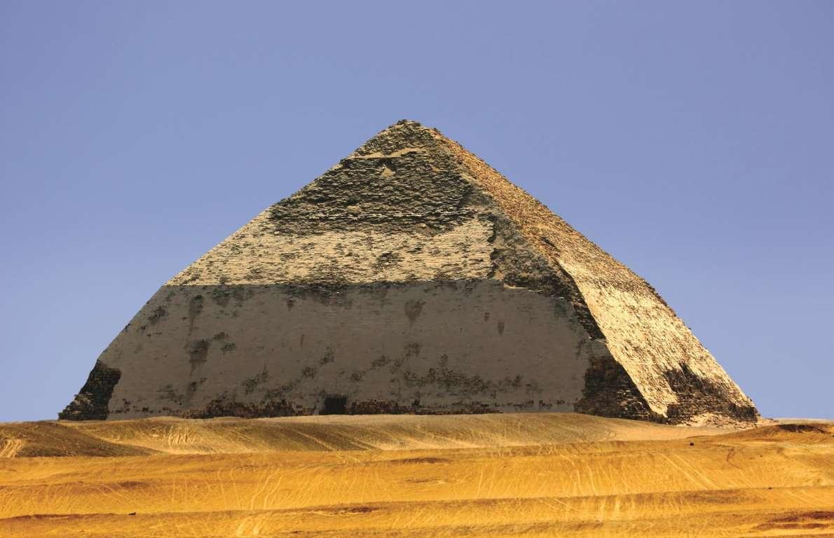 一起探究弯曲的金字塔和古埃及的其他秘密