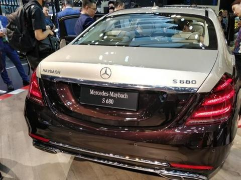 """出厂即王炸,新""""迈巴赫S680""""现身北京车展,加价或超百万!"""