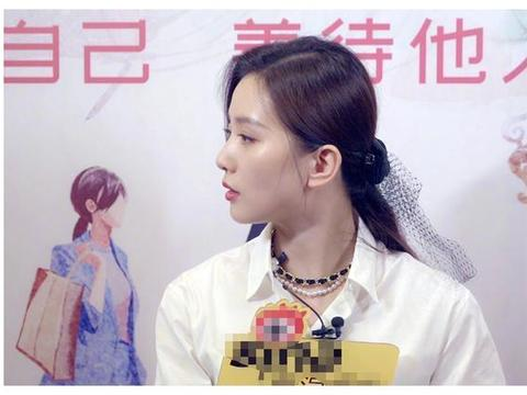 刘诗诗采访照片曝光,没有工作室的精修,颜值我没有眼花吧