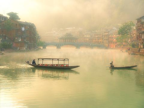 """陕西一古镇,人称陕南""""小南浔"""",素有""""汉江明珠""""之美誉"""