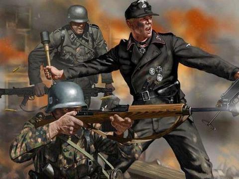 二战德军巅峰时的一个营,遭遇日军最强的大队,谁的赢面更大?