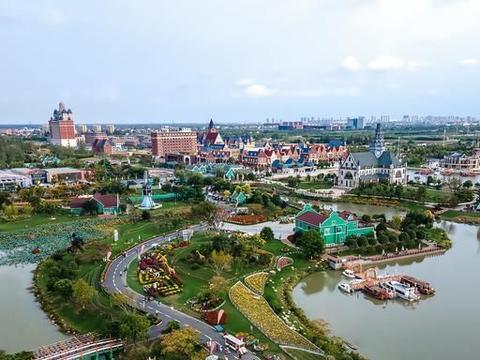 """江苏藏着一座""""荷兰风情小镇"""",花海景色美如童话世界,就在盐城"""