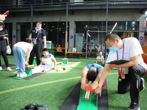 全民健身日的新节目-国家体育锻炼标准达标测验活动垡头拉开帷幕