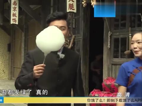 陈赫在邓超面前炫耀,狂舔棉花糖,邓超:你真的舌苔都发绿了