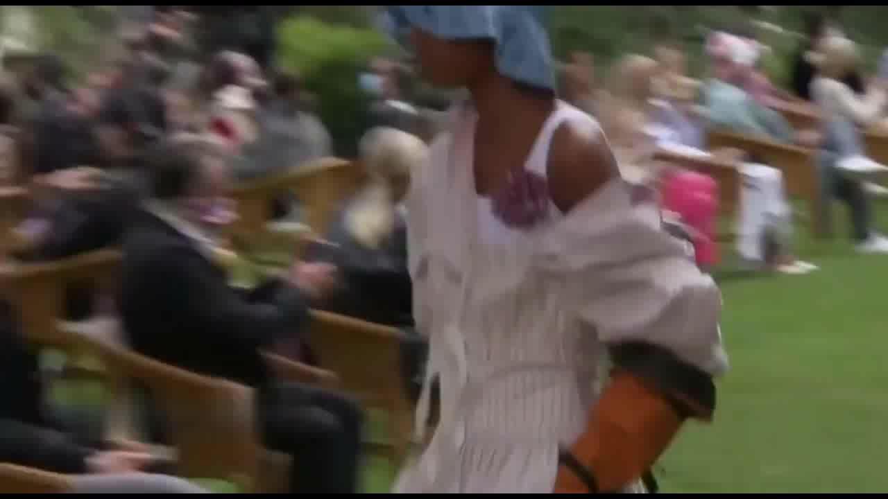 洛伦佐·塞拉菲尼2021年米兰春夏时装周之二