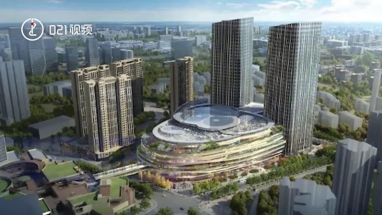 上海 虹口太阳宫正式封顶!上海商场最大采光顶天幕建成